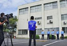 岡山県警察ドローン 講習会
